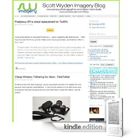 Scott Wyden Imagery Blog for the Kindle