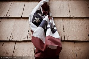 Vintage American Flag Photo Auction for Haiti