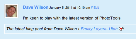 CommentLuv on Scott Wyden Imagery