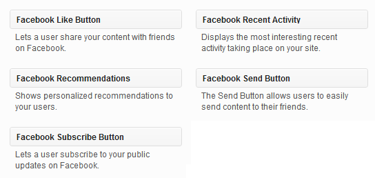 facebook-wordpress-widgets