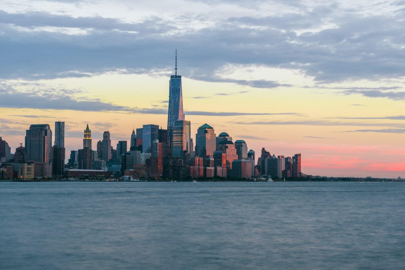 New York City Sunset from Hoboken