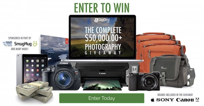 5DayDeal $50,000 Giveaway