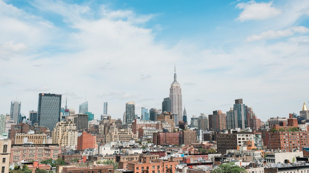 NYC Skyline from Google