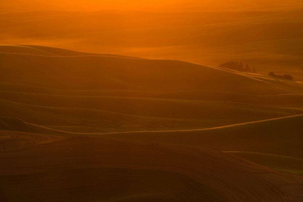 Setting Sun in Palouse