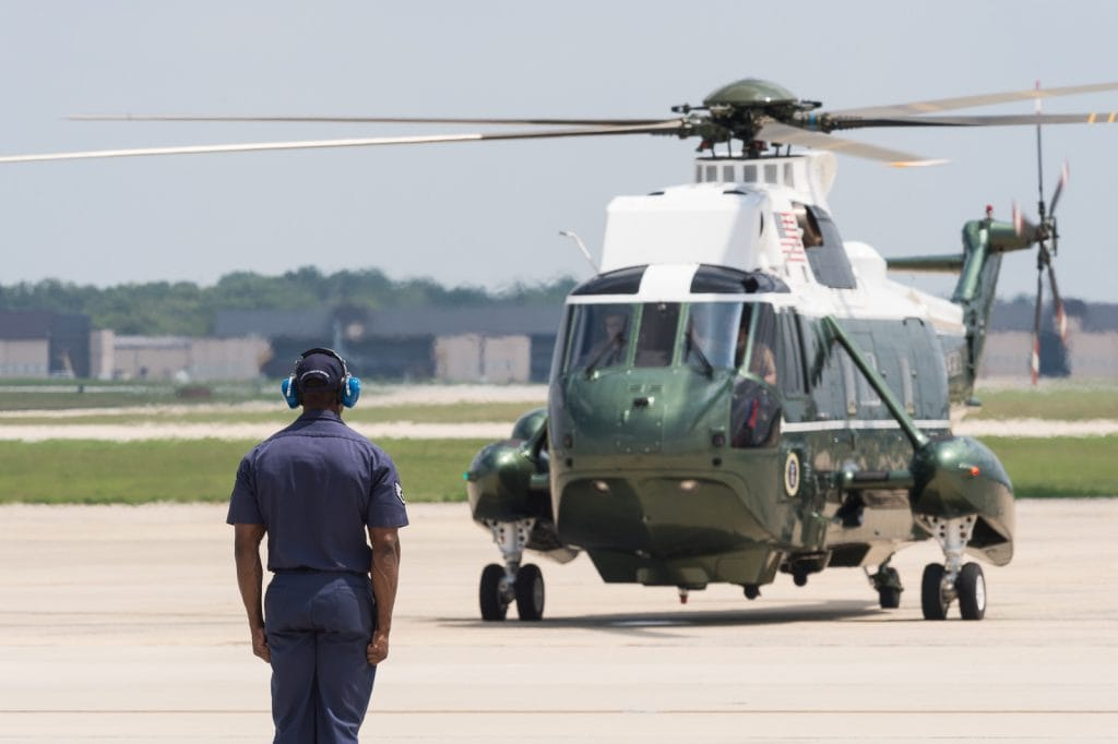 Securing Marine One