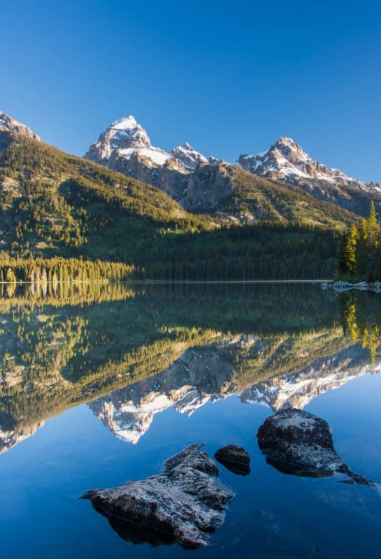 The Best View In Grand Teton National Park - A view of a mountain