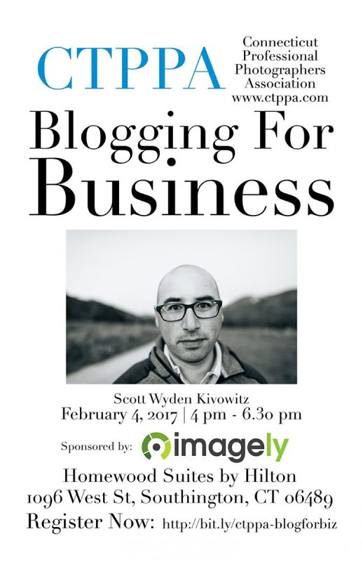 Join me at CTPAA for a WordPress and Blogging event