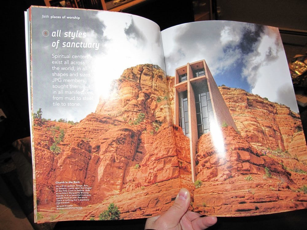 My church in the rock photo published for How to get my photographs published
