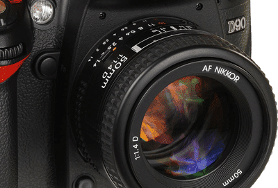 "Nikon D90 ""Blinking"" Video"