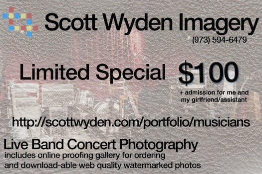 Special: Live Band Concert Photography