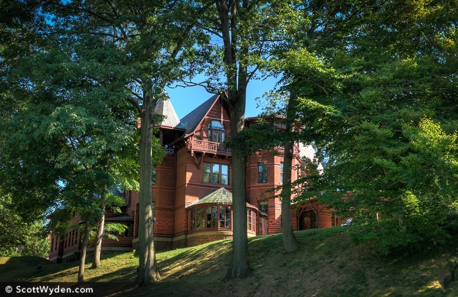 Welcome to the Mark Twain house