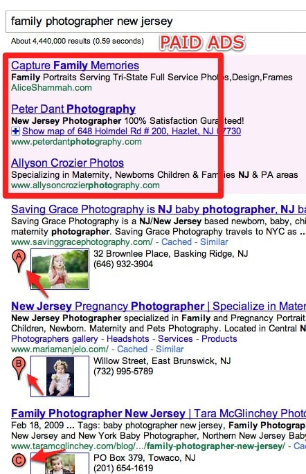 Finding a photographer for your family photos