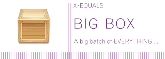 On the first day of Christmas… X-Equals Big Box