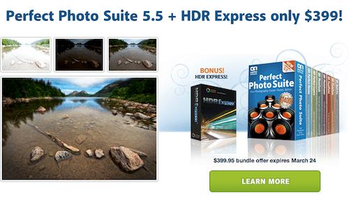 onOne Perfect Photo Suite & HDR Express Bundle Sale!