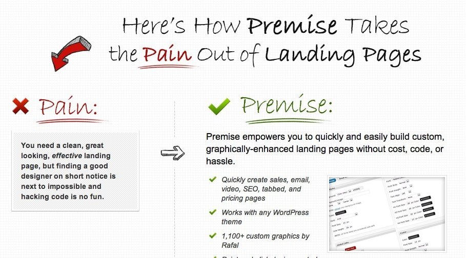 Safely Landing (Pages) in WordPress