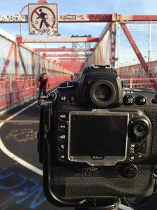 From my eye:  Williamsburg Bridge