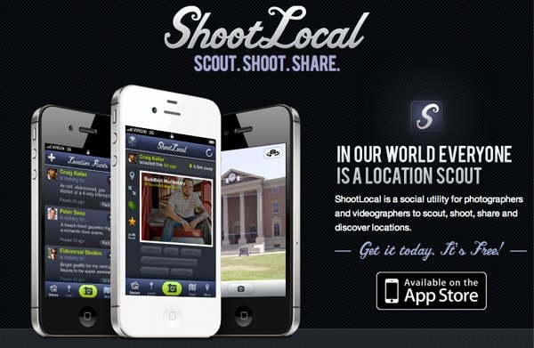 Scout Shoot and Share With ShootLocal