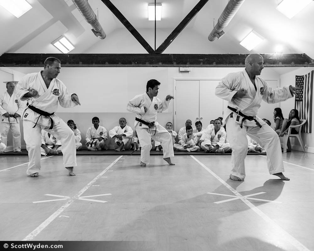 Photographing The Dark Eagle Kata
