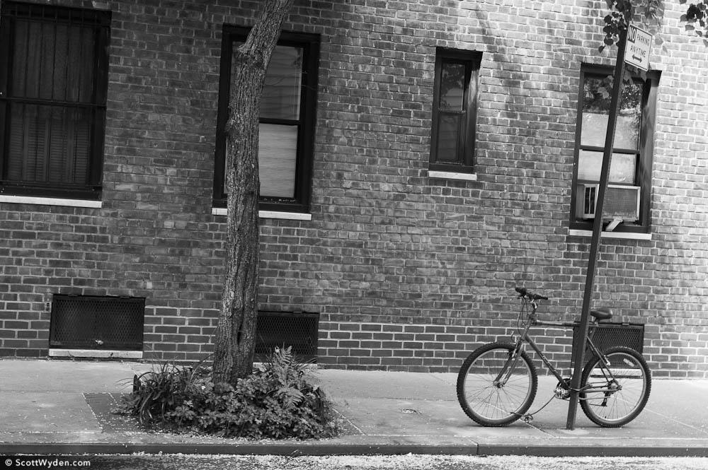 a-bike-alone
