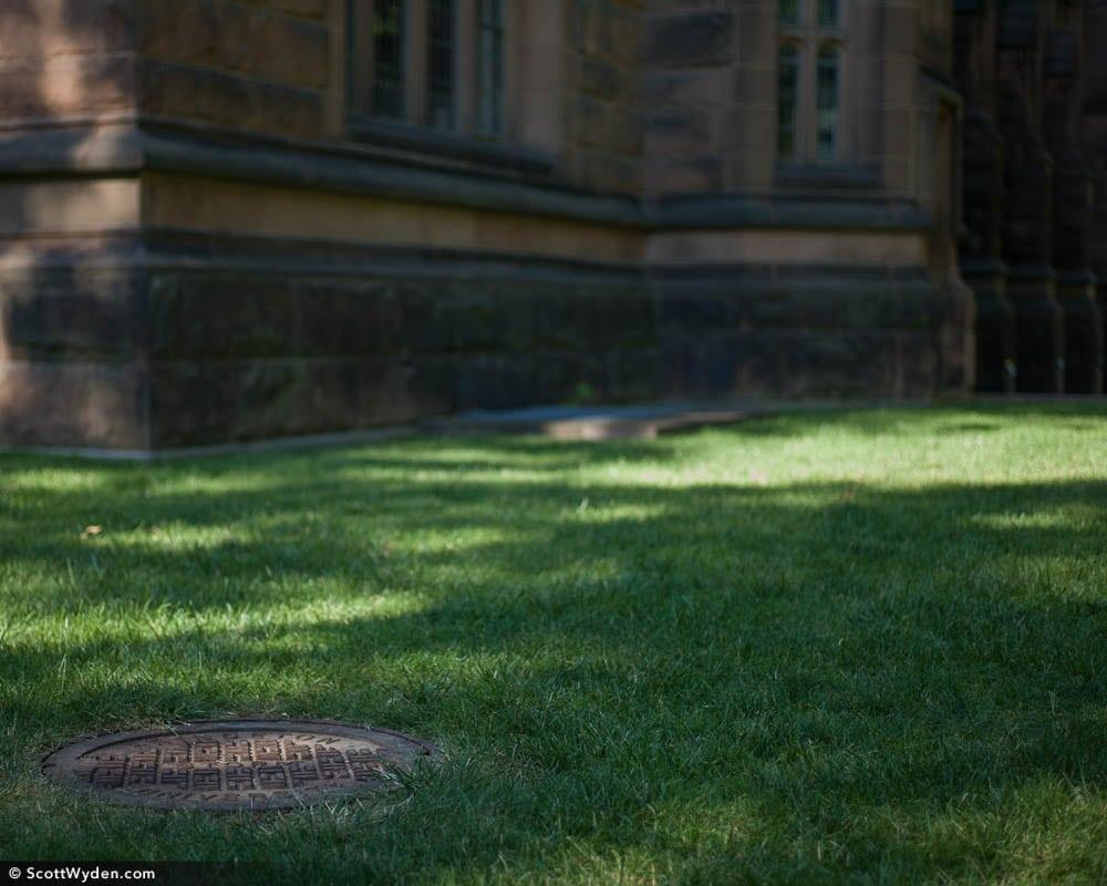 Princeton's Manhole Covers