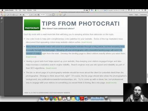 Video thumbnail for youtube video Your Photography Website, Supercharged