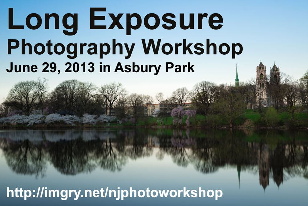 Long Exposure Photography Workshop in New Jersey