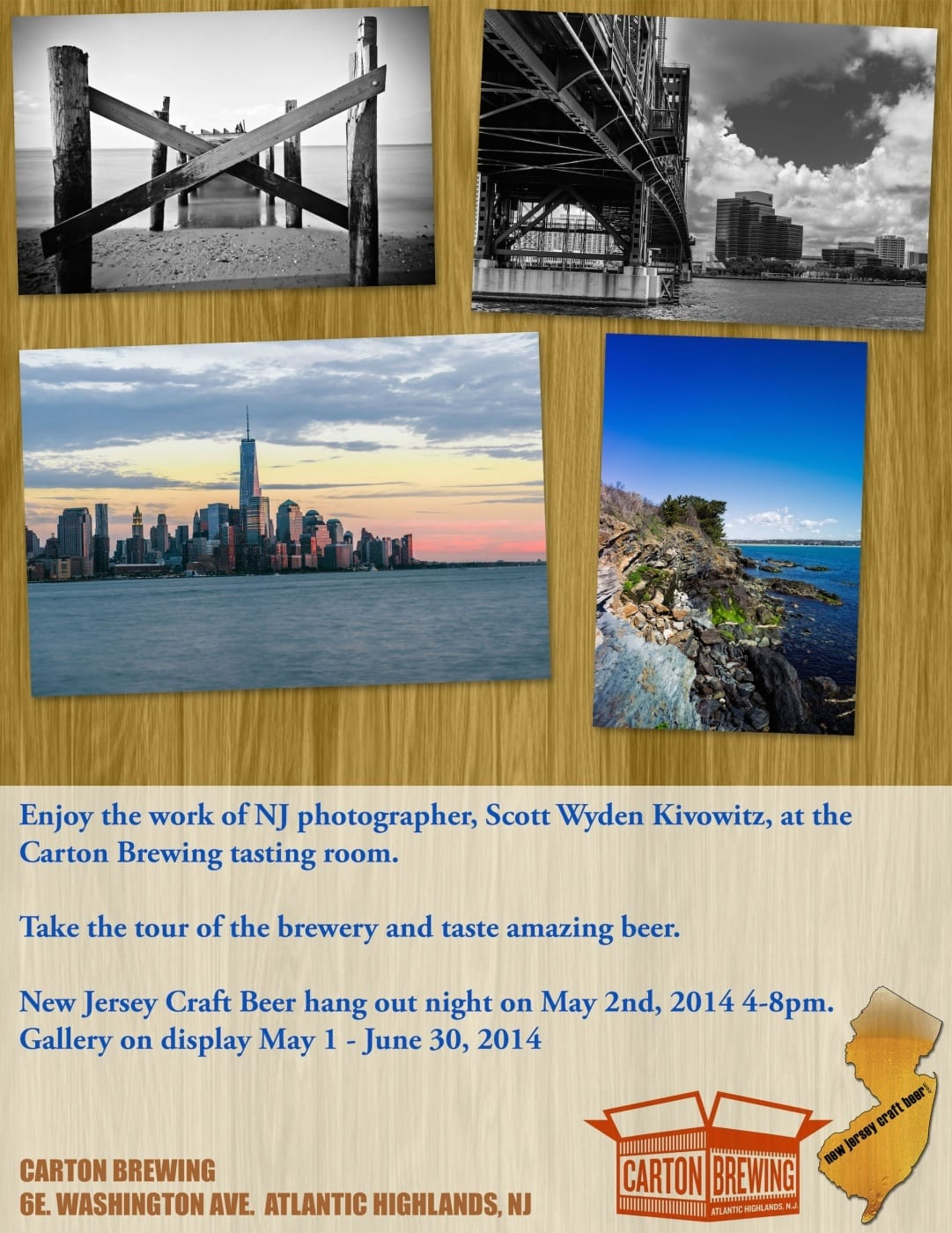 Photography & Beer Tasting – Gallery at Carton Brewing