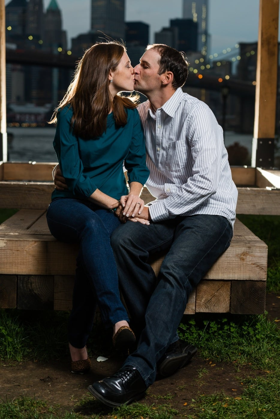 Engagement Photographs & Getting Creative With Lighting