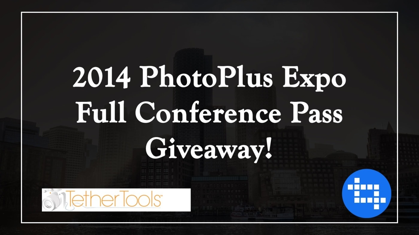 Win A 2014 PhotoPlus Expo Full Conference Pass!
