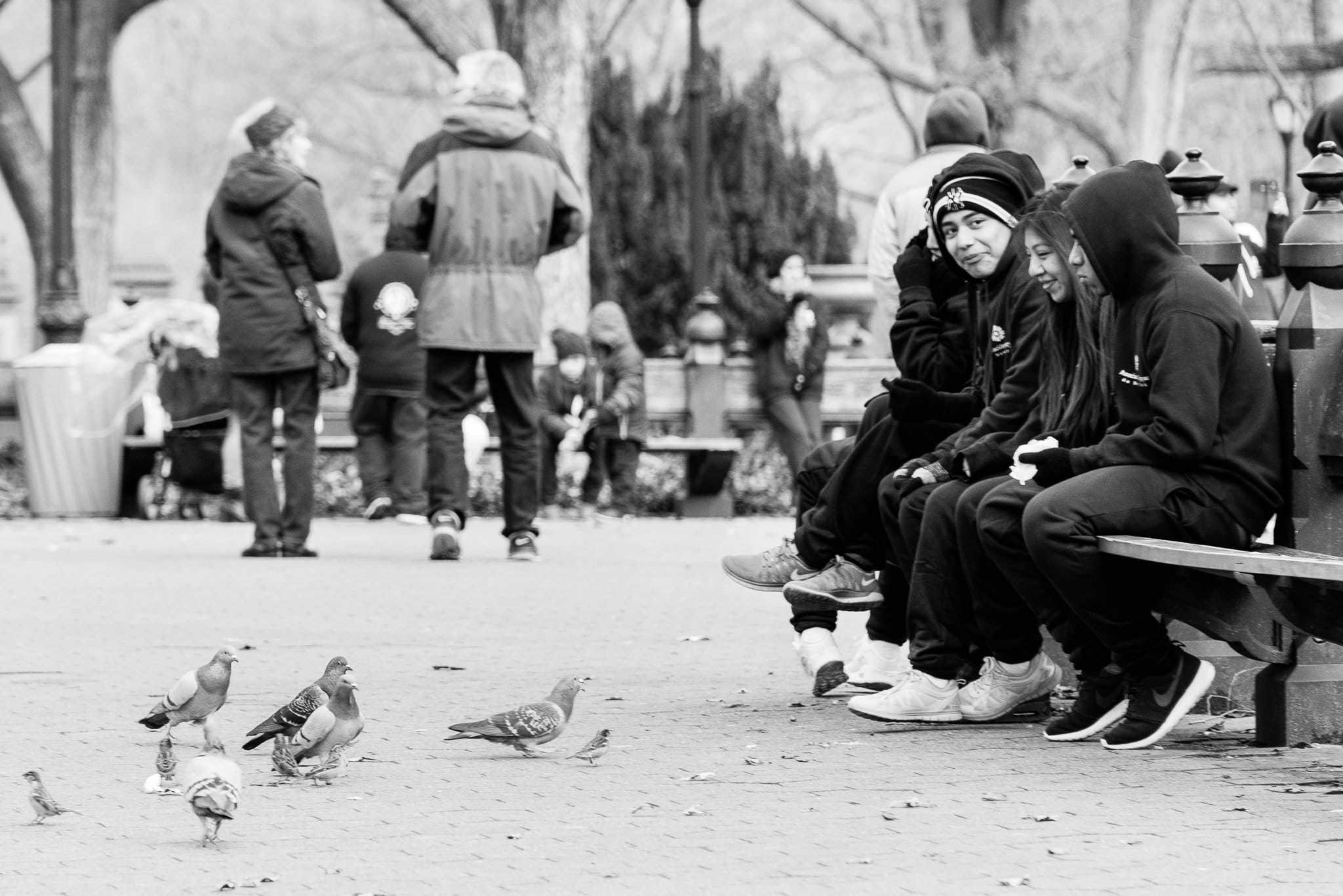 NYC, Birds, Kids & Rick Sammon