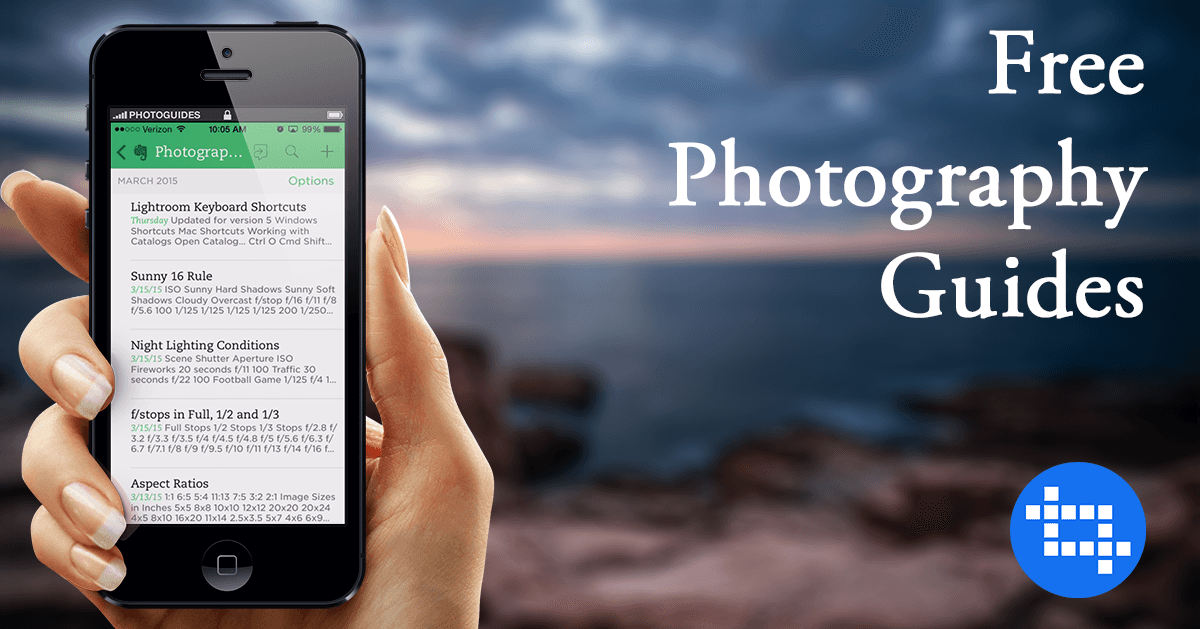 Free Photography Guides Notebook For Evernote