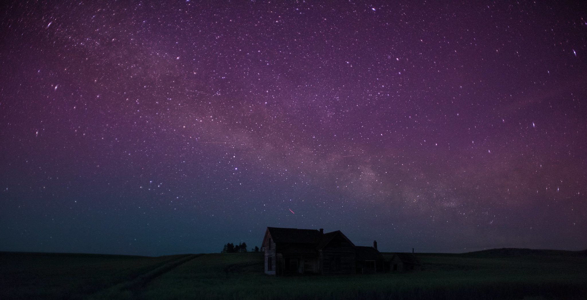 House Below The Milky Way