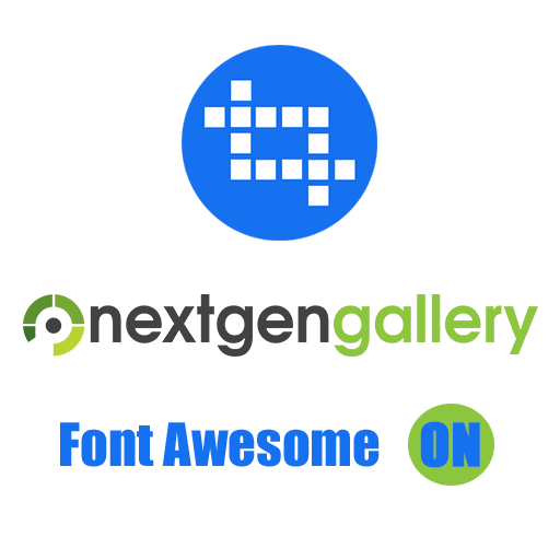 nextgen gallery font awesome on