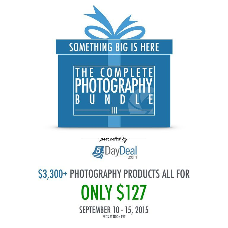 Why I Support The Amazing 5DayDeal Photography Offer