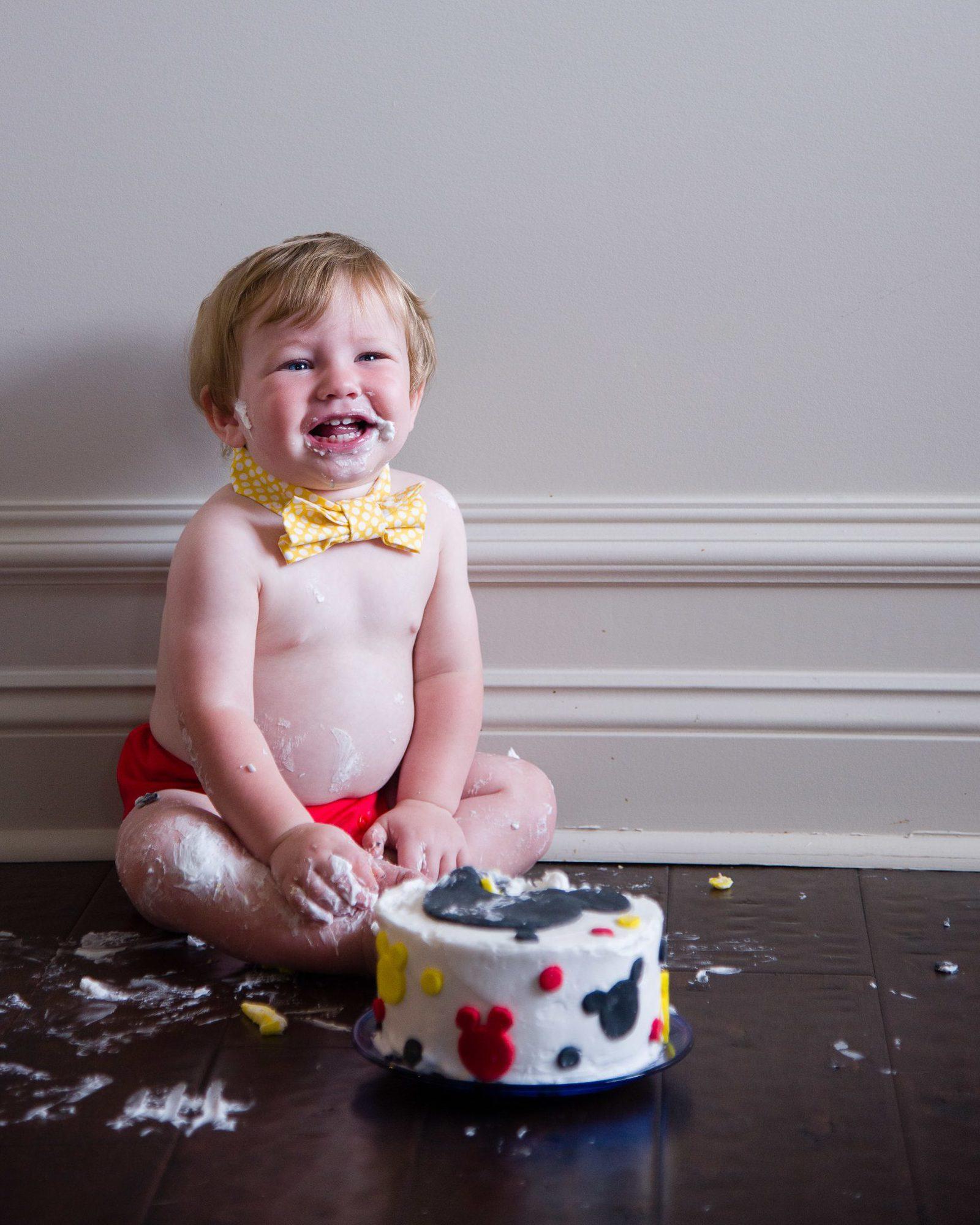 Emmett's Cake Smash