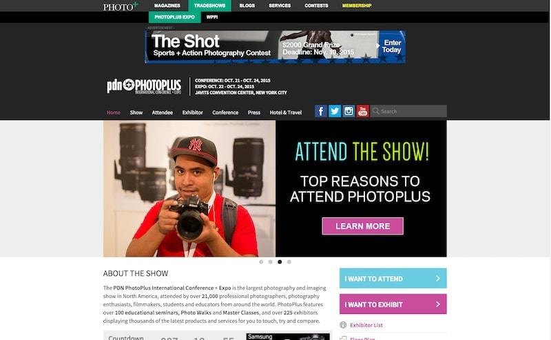 Meet Me At PhotoPlus Expo