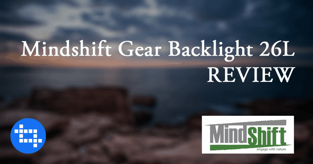MindShift Gear Backlight 26L Review