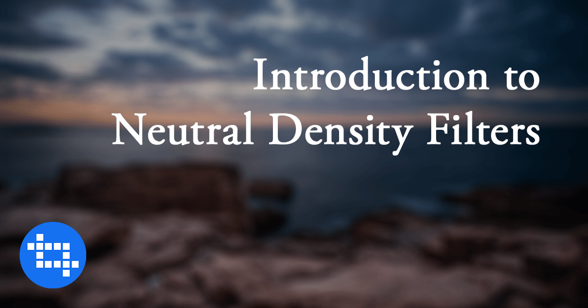 Before You Forget, Neutral Density Filter Introduction