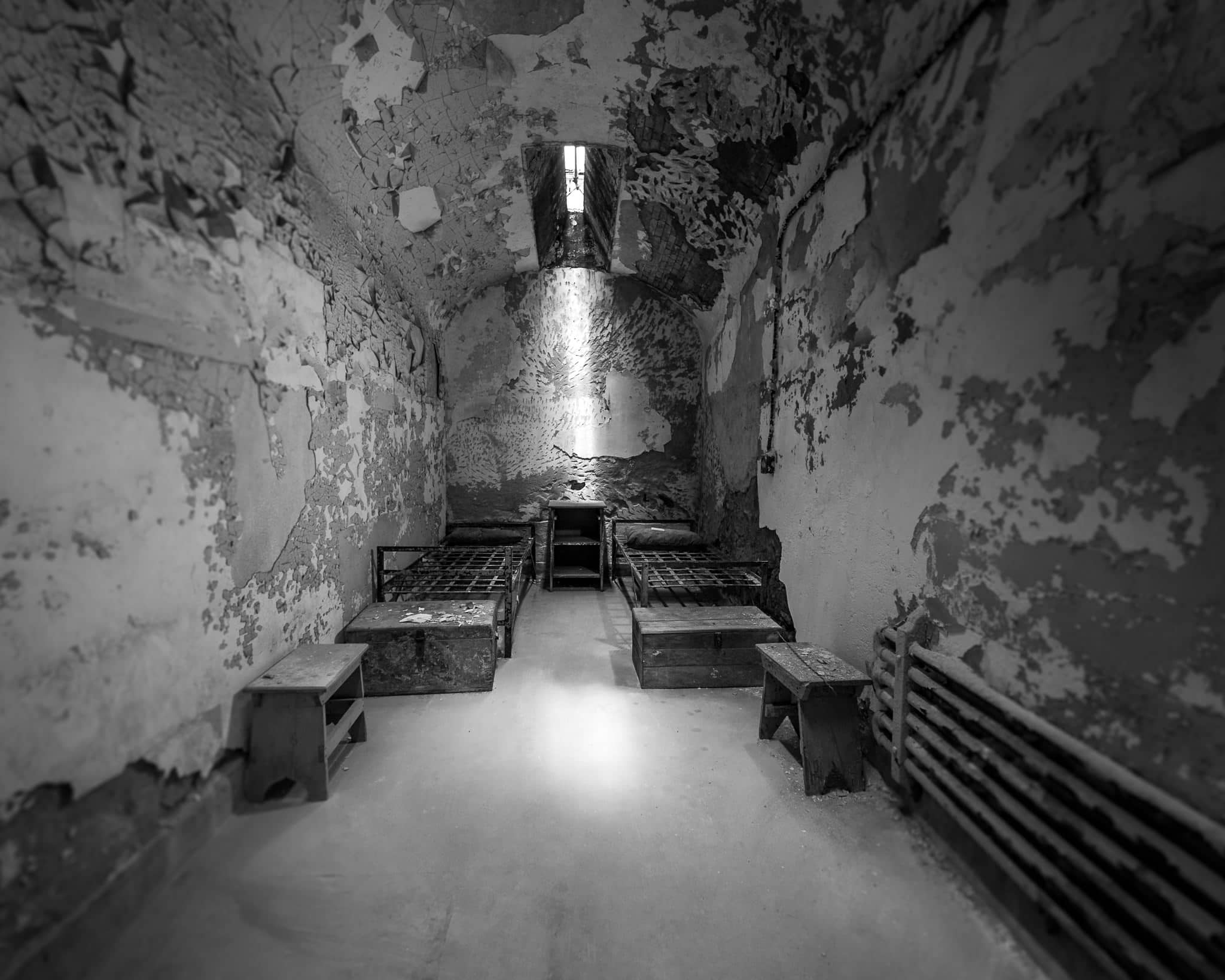 Lost Soul at Eastern State Penitentiary