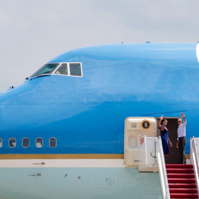 Safe Flight, Obama!