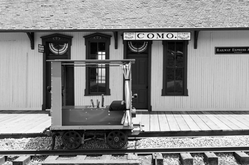 Como, somewhere between Denver, Southpark and Leadville