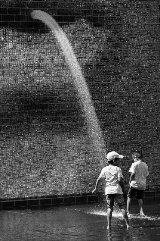 Crown Fountain Children