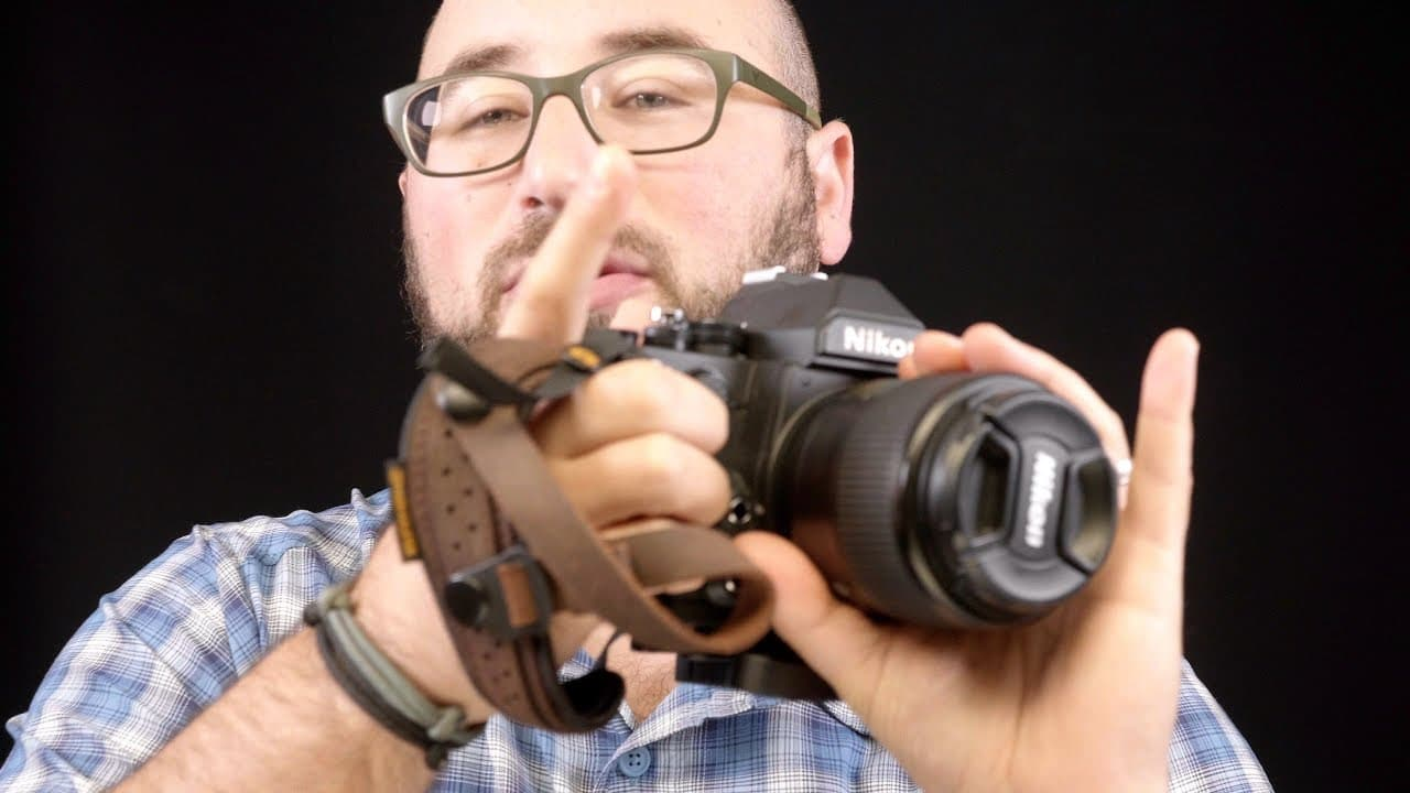 The best hand strap for the Nikon Df