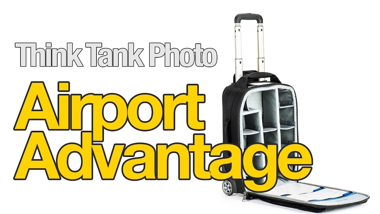 Think Tank Photo's Awesome Airport Advantage Rolling Camera Bag