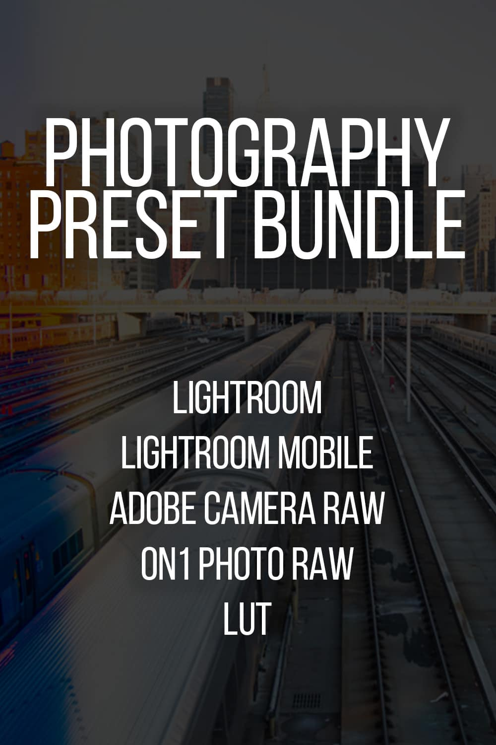 Photography Processing Presets