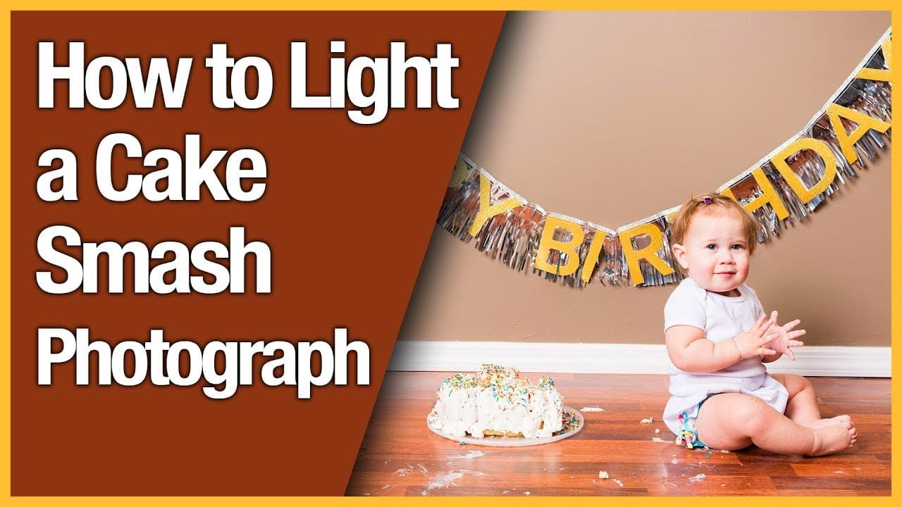 How to Light a Cake Smash Photograph