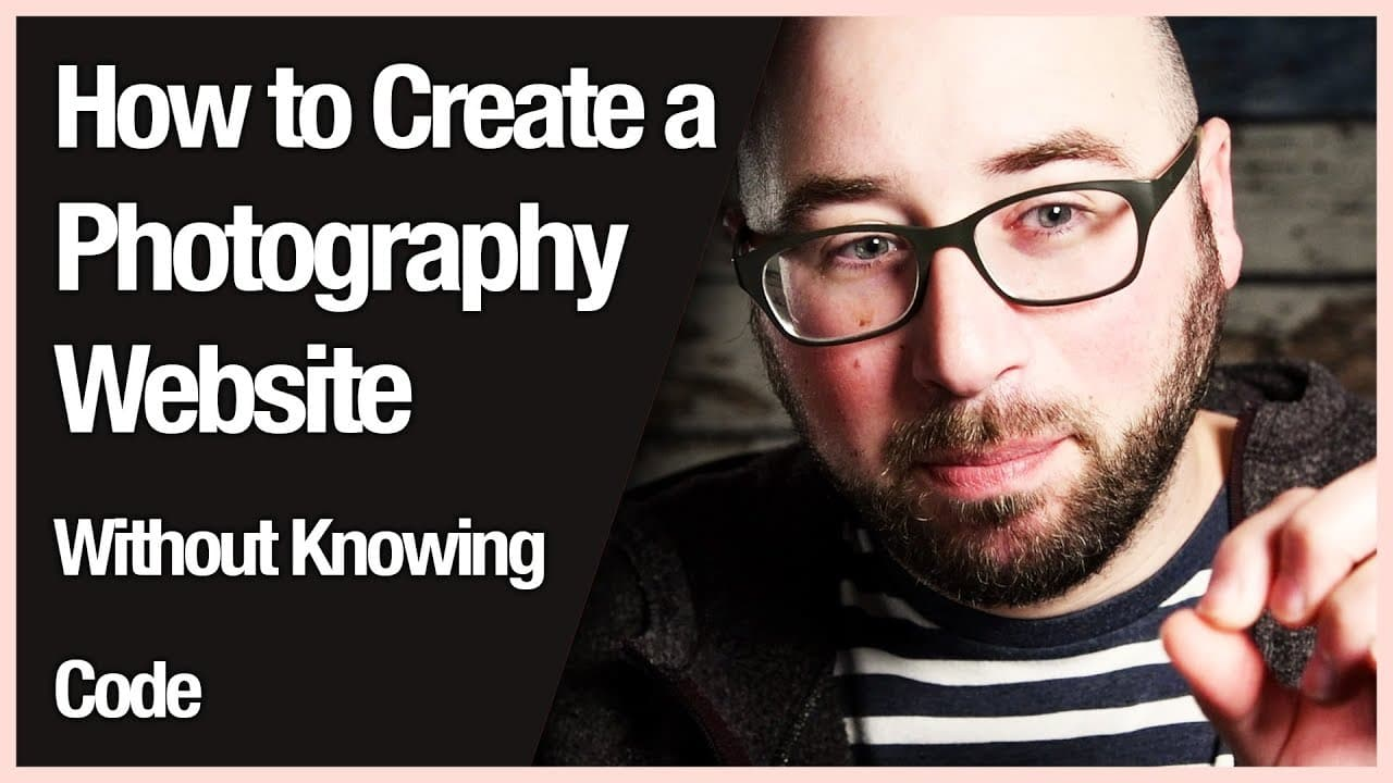 How to Create a Photography Website Without Knowing Code