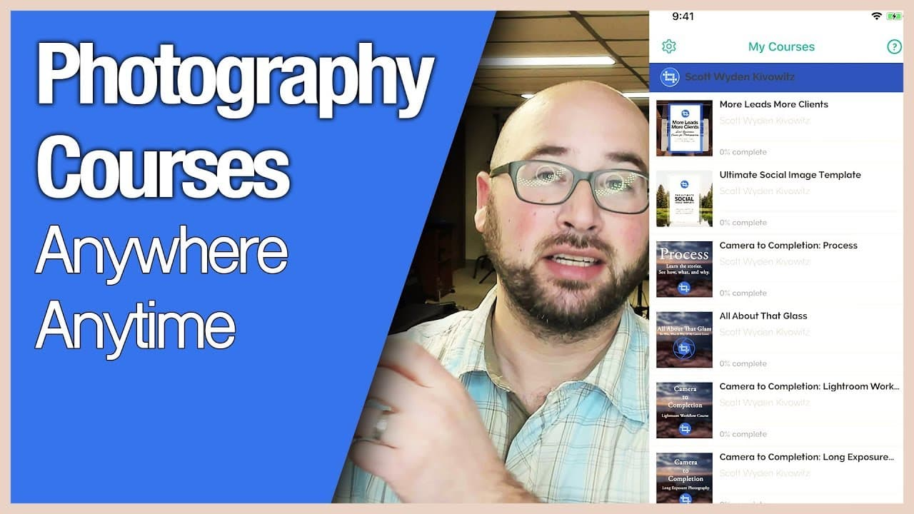 Photography Courses Anywhere Anytime