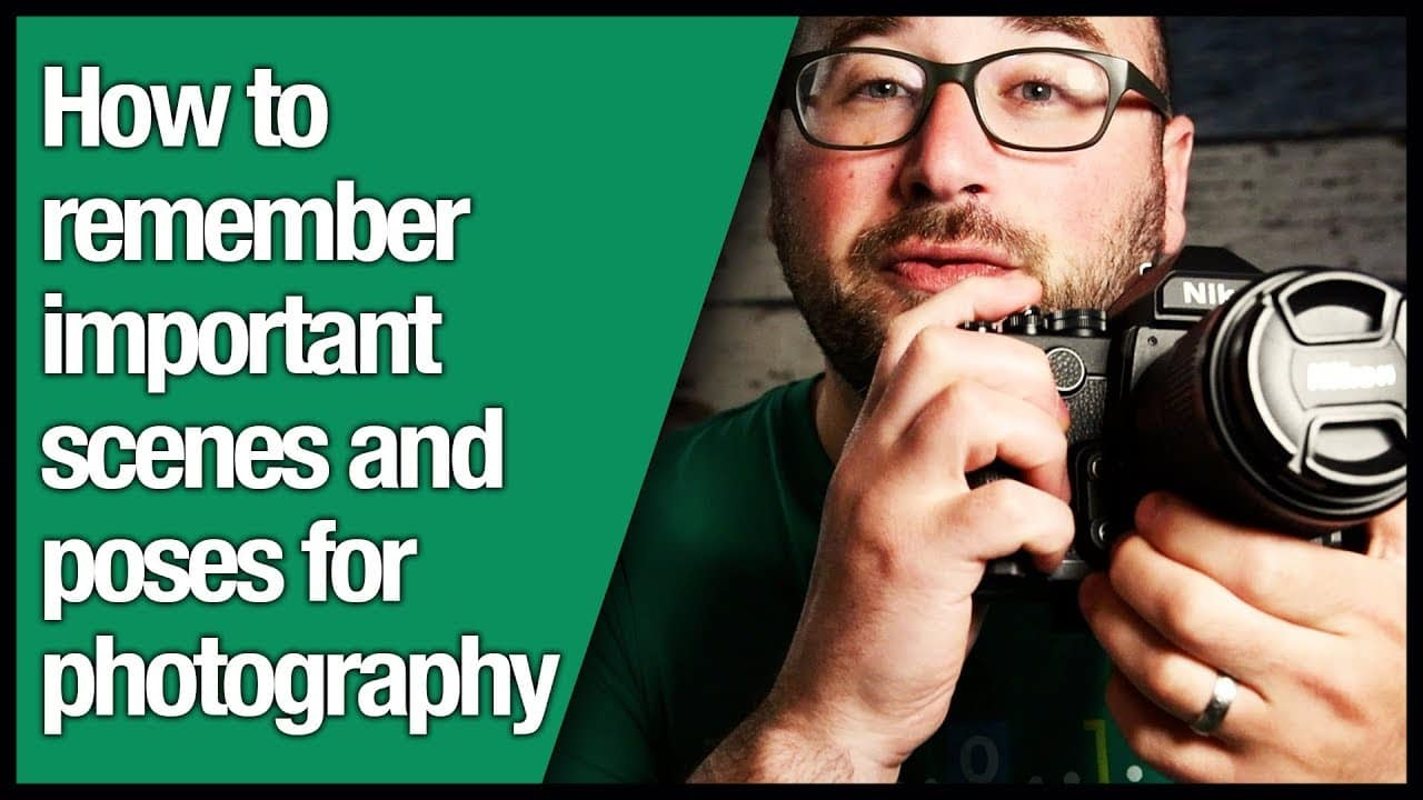 How to remember important scenes and poses for photography
