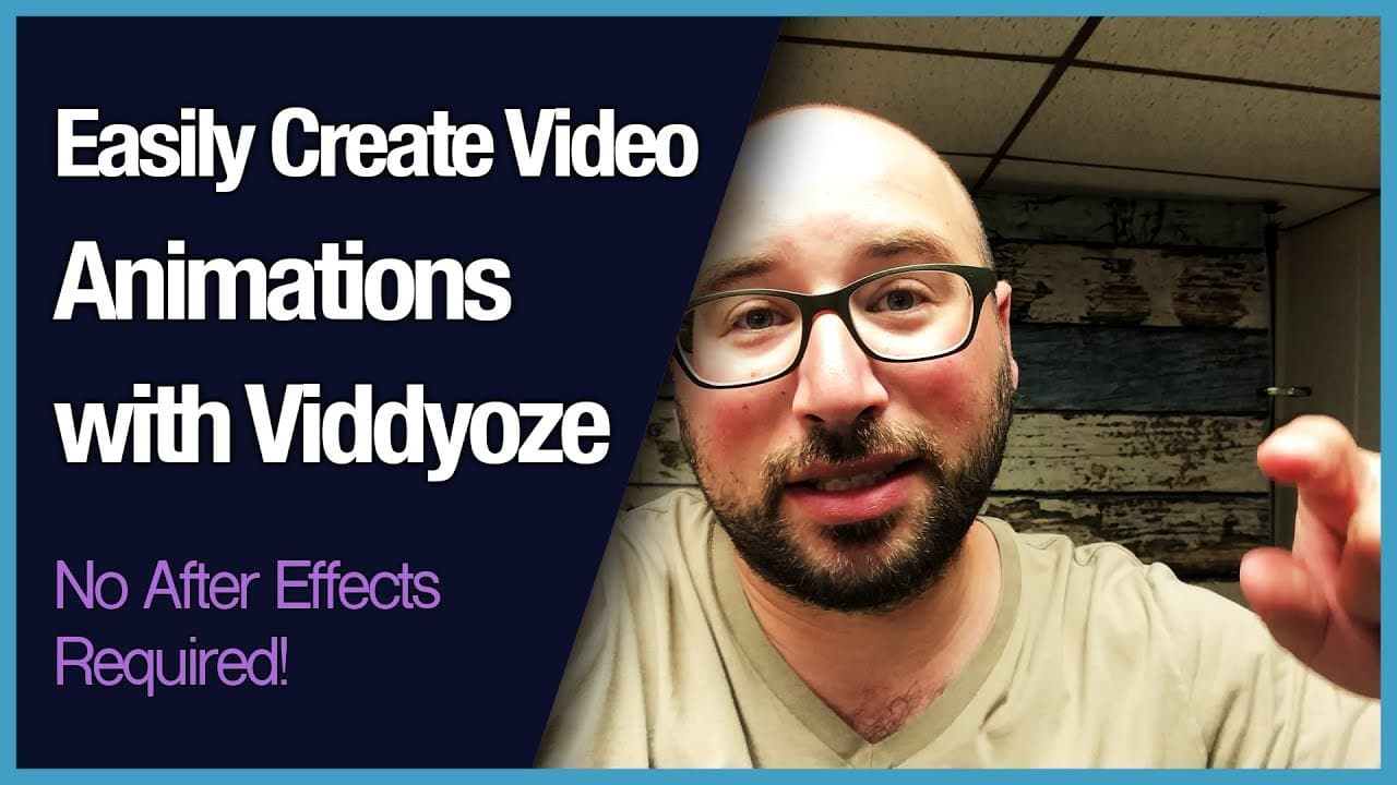 Easily Create Video Animations with Viddyoze